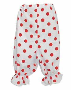 Adults-White-amp-Red-Polka-Dot-Panto-Comic-Sports-Relief-Fancy-Dress-Bloomers