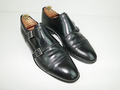 Canali 1934 RECENT Monk Strap GOODYEAR WELT Italian UK  8 EU 42 Shoes RTP 495