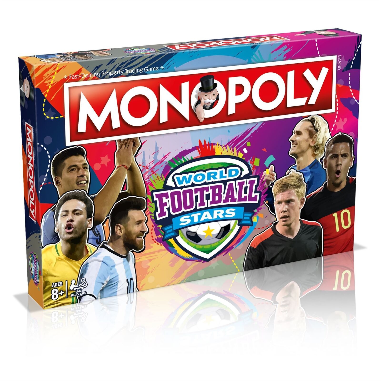 Monopoly World Football Stars - 2019 by Winning Moves