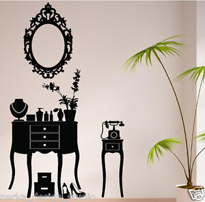 Wall Decal Sticker Vintage Furniture