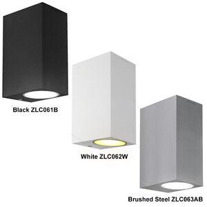 modern led up down rectangular outdoor wall light 8w 10w 12w