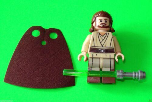 LEGO STAR WARS FIGUR ### QUI-GON JINN JEDIMEISTER AUS SET 75058 NEU ### =TOP