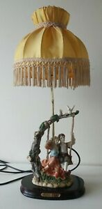 Juliana-Collection-Table-Lamp-Vintage-Collectable-Large-Figurine-Art-Deco-Style
