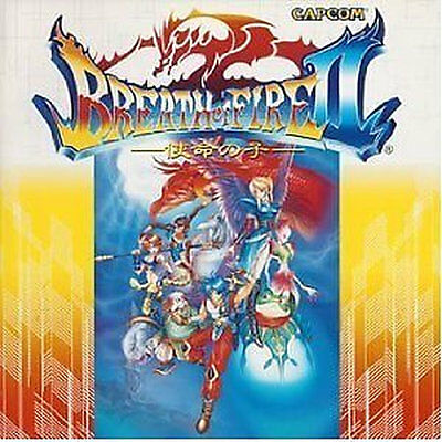 Breath of Fire GAME SOUNDTRACK CD Japanese Breath of Fire 2