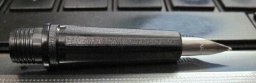 2XSpare nib section Parker beta fountain pen original chrome plated medium M new