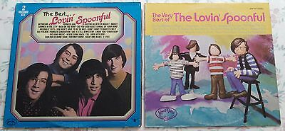 3 LPs! The Best...Lovin' Spoonful 2 Record Set & The Very Best of.. Vinyl Buddah