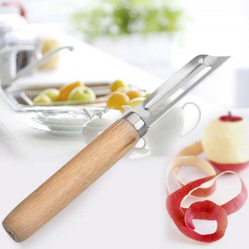 Stainless Steel Cutter Vegetable Fruit Apple Slicer Potato Peeler Parer-Tool