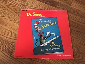 Dr Seuss Presents The Cat In The Hat Song Book Vinyl Lp
