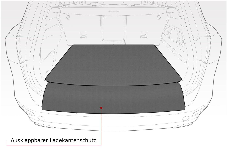 Kofferraummatte mit Ladekantenschutz für Audi Q8 ab Bj 2018