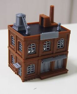 Outland-Models-Railway-Industrial-Building-Factory-Warehouse-STACKABLE-N-Scale