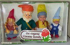 Vintage 1970s The Eugene Family Gnome Dolls 70630 Set of 4 NRFB Hong Kong