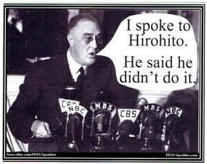 ANTI-Trump-I-SPOKE-TO-HIROHITO-humorous-political-bumper-sticker