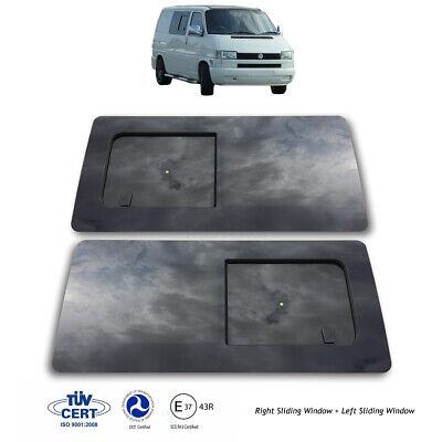 Wind Deflectors for VOLKSWAGEN T5 t6 VW Transporter Visors 2003-17 2-pc Tinted