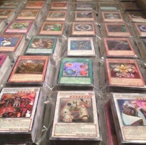 Yugioh Card Lot of 200+ BulkCards 10+ Guaranteed Holo Super-Secret NM/LP Binder