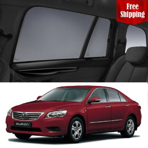 TOYOTA Aurion 20062011 Magnetic Car Rear Sun Blind Shade Baby Kid Protection