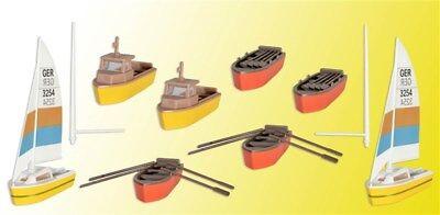 kibri 39160 Spur H0 Set Boote #NEU in OVP#