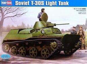 Hobbyboss 1:35 T-30S Soviet Light Tank Model Kit