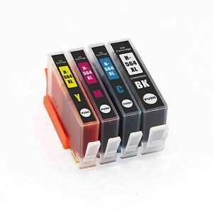 4 ink 564XL for HP PhotoSmart D5400 D5445 D5460 D5463 D5468 D7500 D7560 B109n