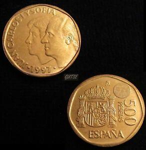 *gutse* J. Carlos I>2, 500 Pesetas 1997, Sin Circular.