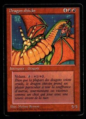 *MRM* FRENCH Dragon shivan Ex Shivan Dragon MTG FBB