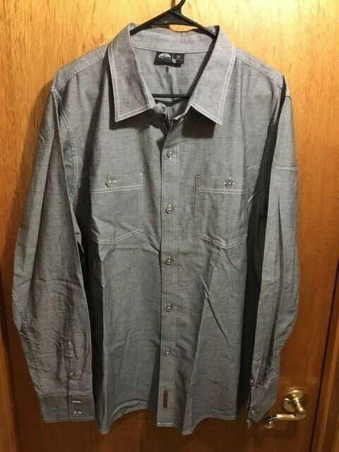 M'S NWOT  75 GO LITE  OXFORD BUTTON SHIRT HIKE TREK OUTDOORS MAN SIZE XLARGE XLG  outlet sale