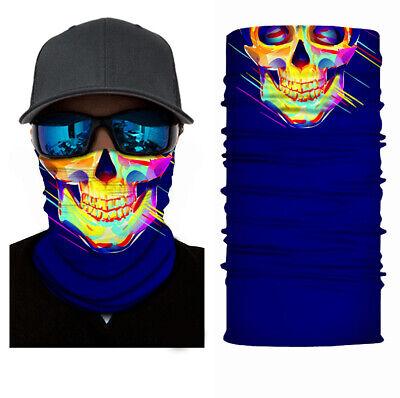 Trendmarkierung Bandana Tube Halstuch Fahrrad Schal Maske Rad Biker Stirnbänder Kopftuch Schädel