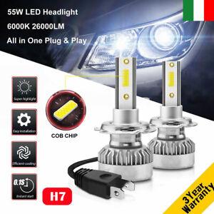 110W-H7-26000LM-Auto-LED-Fari-Lampade-Lampadine-DRL-Luci-Kit-Xenon-Bianco-6000K