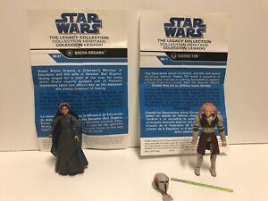 star-wars-legacy-collection-Breha-Organa-BD27-amp-Saesee-Tiin-BD11-Lot