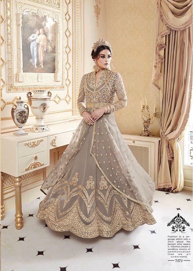 Pakistani Salwar Kameez Indian Wear Fancy Designer anarakali Salwar Costume 3