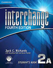 Interchange Level 2 Student's Book A with Self-study DVD-ROM and Online Workbook A Pack by Jack C. Richards (Mixed media product, 2012)