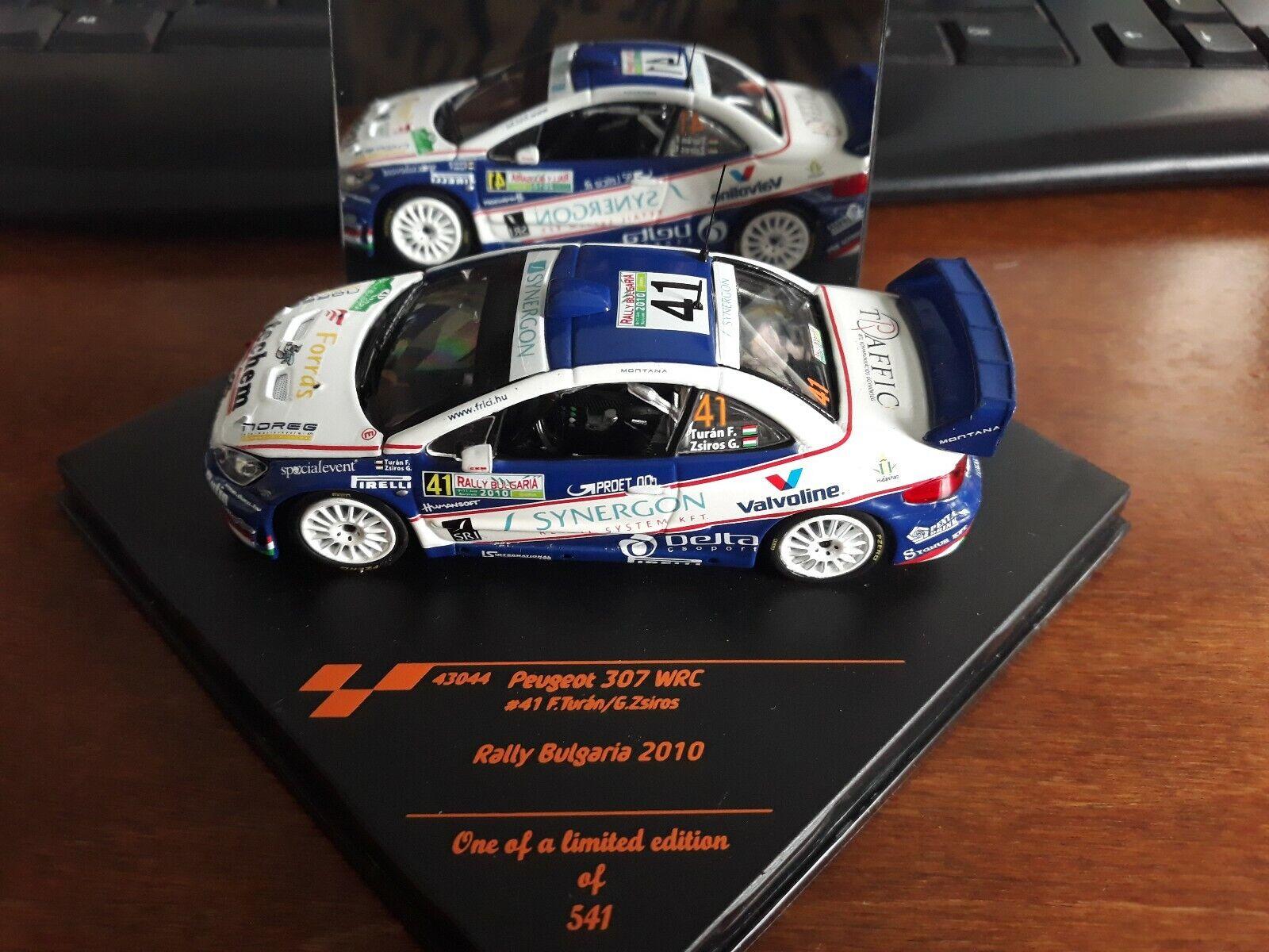 Vitesse 1 43 Peugeot 307 WRC Rally Bulgaria 2010 43044