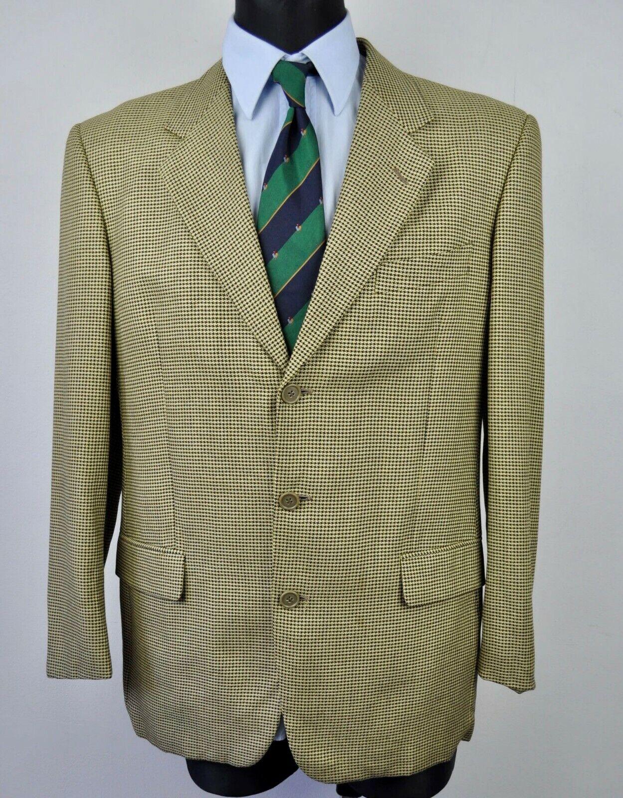 Conte Di Roma seda y lana houdstooth Tweed Reino  Unido 40 Abrigo Chaqueta Traje de 50 euros  echa un vistazo a los más baratos