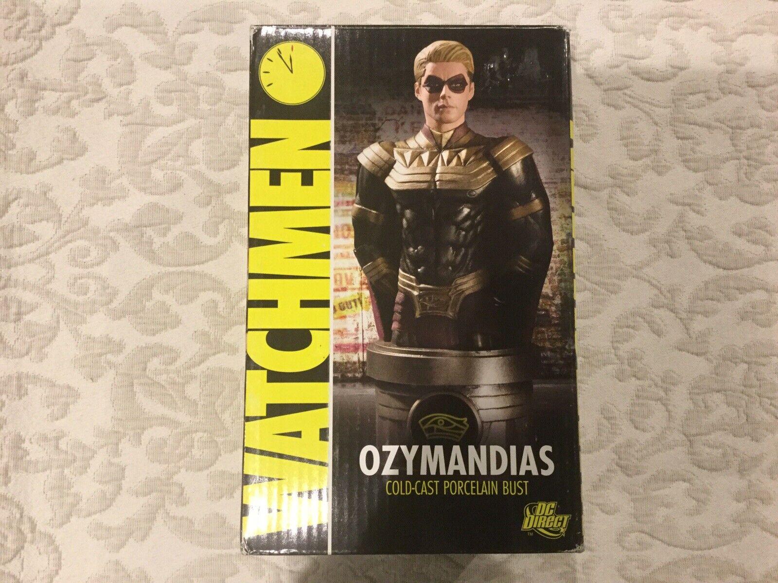 2009 TM DC Direct WatchSie Ozymandias Cold-Cast Porcelain Bust 0827 5000