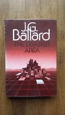 J G Ballard – Disaster Area (UK Cape 1984 hb dw) Crash High Rise Concrete Island
