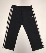 Women's Adidas CLIMALITE Mix 3/4 Fab Tigh Black Yoga Workout ...