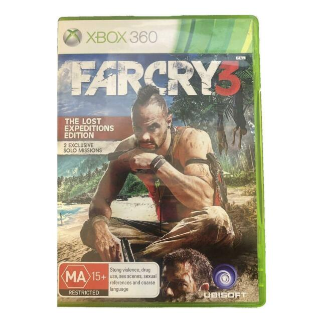 Farcry 3 The Lost Expeditions Edition Xbox 360 Game Complete With Booklet