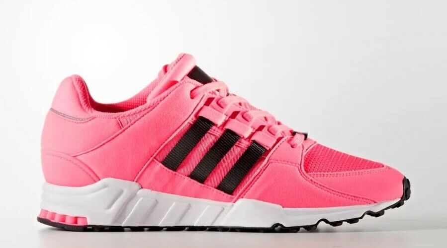 Adidas Originals Men's Size 9 Equipment Support EQT RF Black White Pink BB1321
