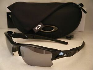 7f471bec60 Details about Oakley Flak Jacket XLJ Jet Black w Black Iridium Lens NEW  Sunglasses (03-915)
