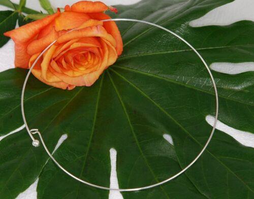 Halsreif alambre anillo para un colgante cuello joyas drt-30 a