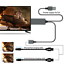 thumbnail 5 - 1080P HDMI Mirroring Cable 6Ft Phone to TV HDTV Adapter For iPhone iPad Android