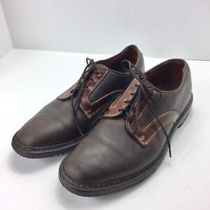 ALLEN-EDMONDS-Mens-Berkshire-Brown-Leather-Casual-Oxfords-Size-8-5-D-Polished