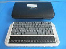 Hims Braille Sense Plus Qwerty Model H332q Note Taker Braillesense Mp3 Player