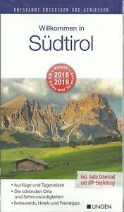 Reisefuehrer-Suedtirol-Bozen-Meran-Welsberg-mit-Landkarte-2018-2019-BRIEFVERSAND