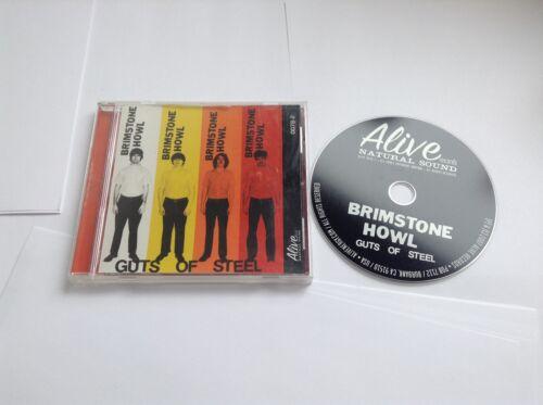 1 of 1 - Brimstone Howl Guts Of Steel 2008 CD  095081007826