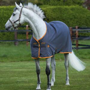 Horseware-Amigo-Stable-Sheet-0g-Excal-amp-Orange-Stalldecke