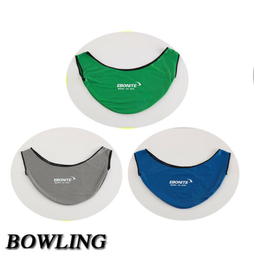 Deluxe Classic See-Saw Bowling Ball Carrier Polisher Cleaner Blue/Green/Gray NEW