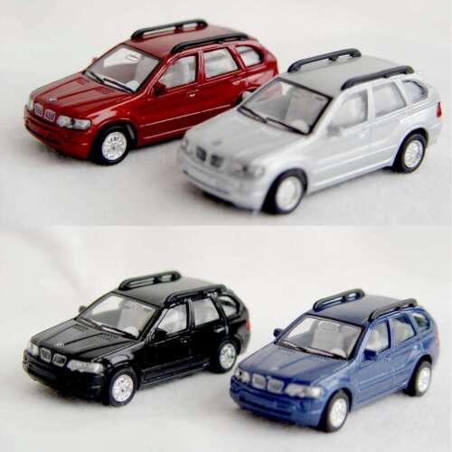 Kinsmart modelo coches modelo auto moldeo retirada motor bmw x5 1:72
