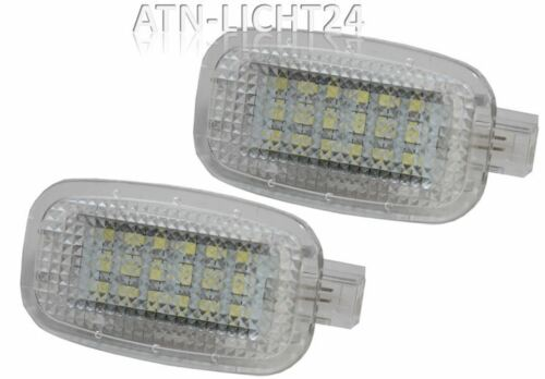 W204 4D W221 LED Courtesy 2x Innenraumbeleuchtung Xenon Weiss 6000K CAN-Bus A584