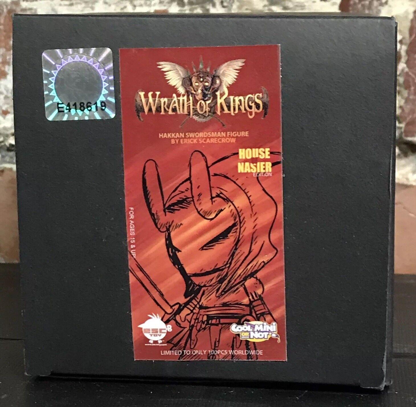 Wrath Of Kings Hakkan Swordsman Figure Scarecrow 100 Pieces House Nasier Edition