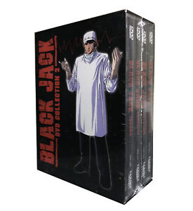 Black-Jack-DVD-Boxset-Collection-2-DVD-2005-4-Disc-Set-Brand-New-Rare